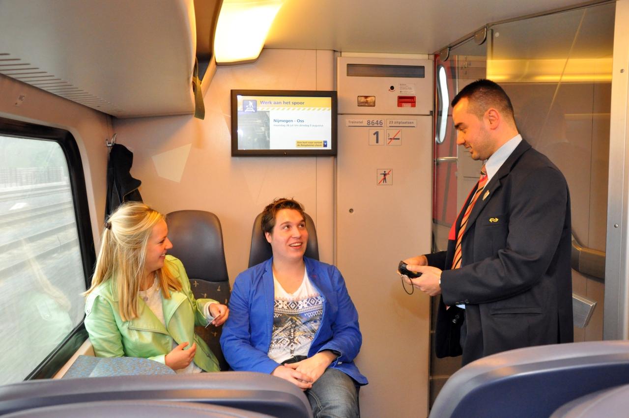 Treinblog: Meekijken met de conducteur (1)
