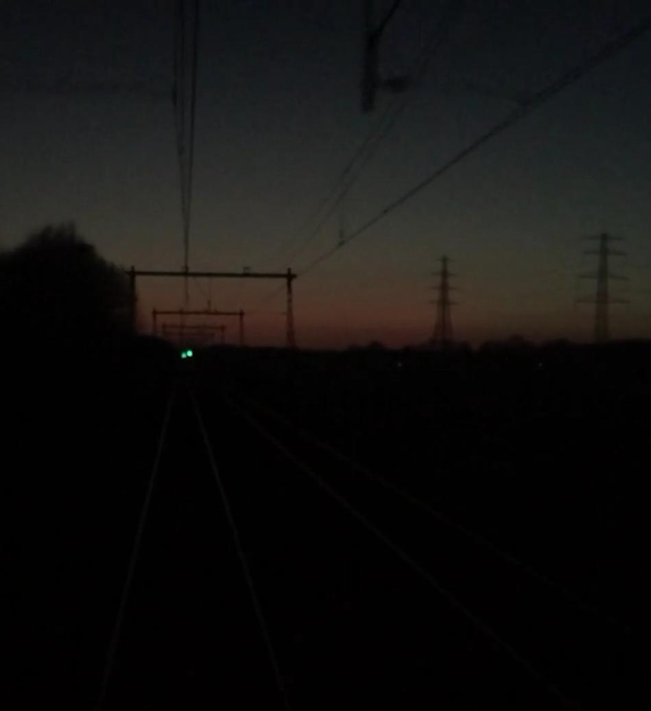 Treinvideo: Japanse zonsondergang